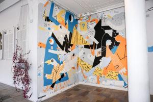 Paweł Mildner mural